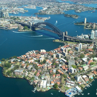 Sydney_Harbour_Bridge_from_the_air
