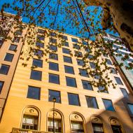 Facade of the campus - Melbourne