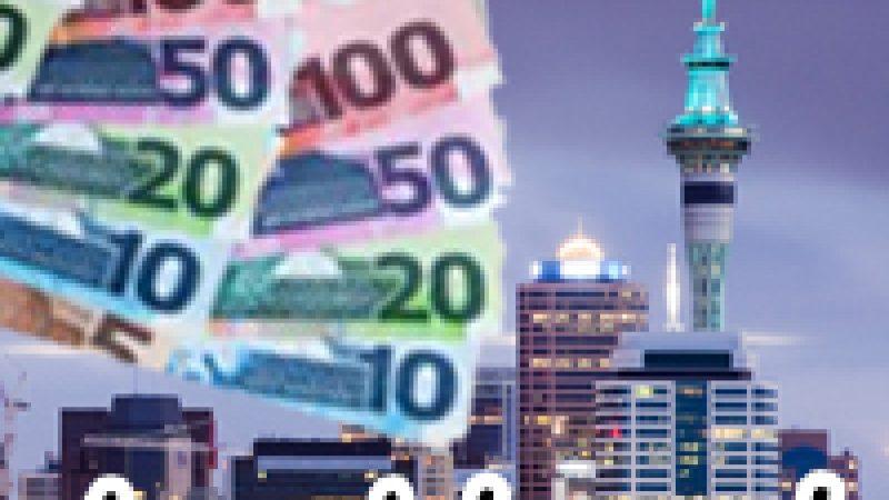 ค่าครองชีพในโอ๊คแลนด์ ประเทศนิวซีแลนด์