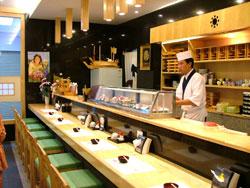 ทำงานในร้านอาหารญี่ปุ่น
