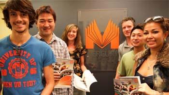 เรียนภาษาที่ Mercury College: Sydney