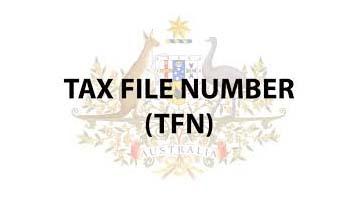 การสมัคร Tax File Number