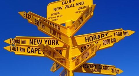 สถานที่ท่องเที่ยวใน 5 เมืองหลักของ ประเทศนิวซีแลนด์