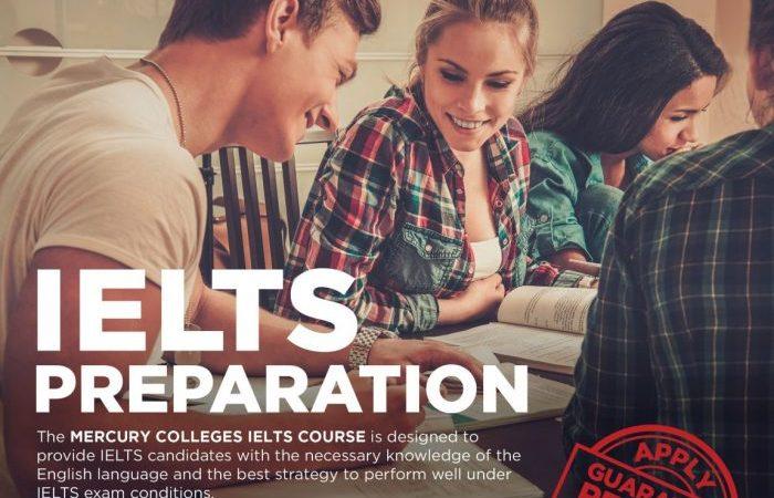 เรียน IELTS Preparation ที่ Mercury Colleges
